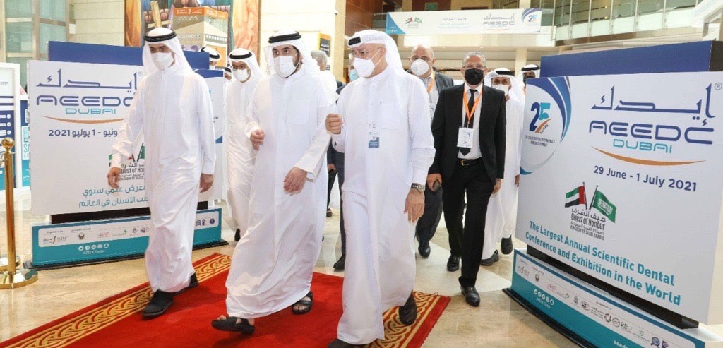 Ahmed bin Mohammed inaugurates 25th edition of UAE International Dental Conference and Arab Dental Exhibition